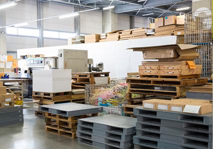 工場の産業廃棄物定期回収