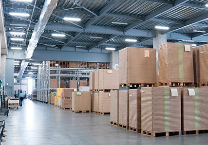 倉庫の産業廃棄物定期回収